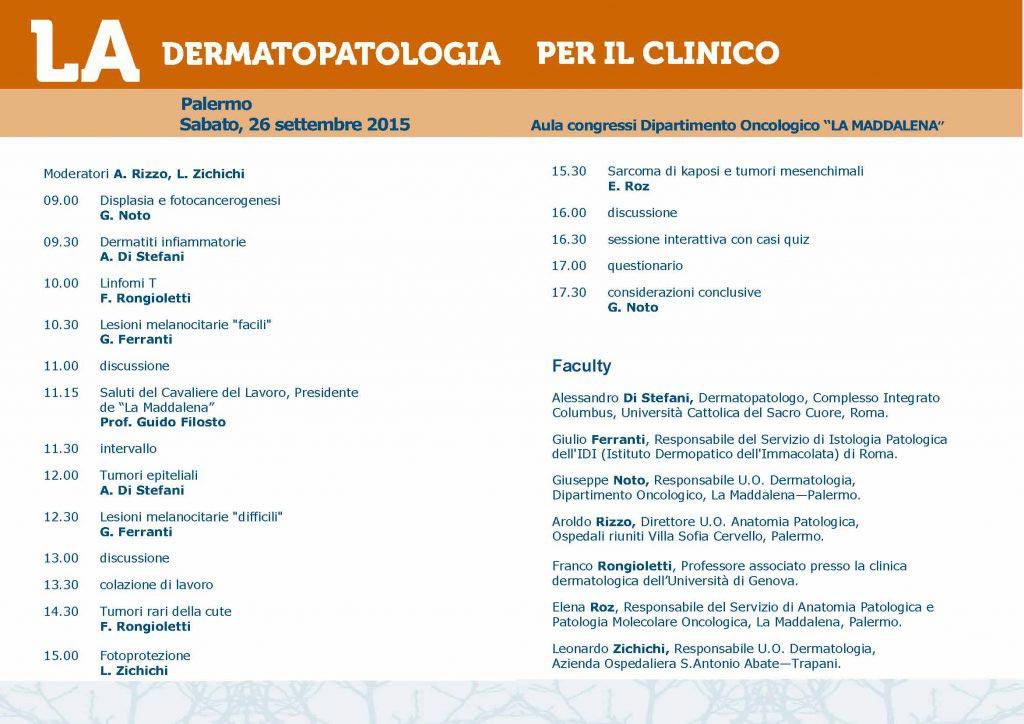 dermatologia-Programma